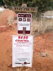 Trailhead, Fay Canyon Trail, Sedona, Arizona