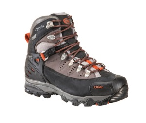 Obõz Beartooth Bdry Backpacking Hiking Boot, MRSP $220.00
